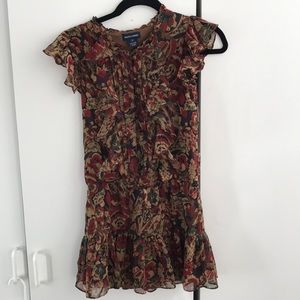 Ralph Lauren ruffle party dress amazing condition